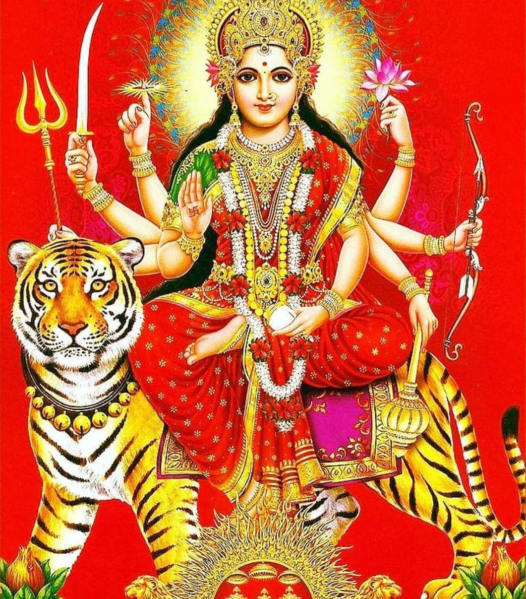 Sherawali Mata Rani Ji HD Wallpaper