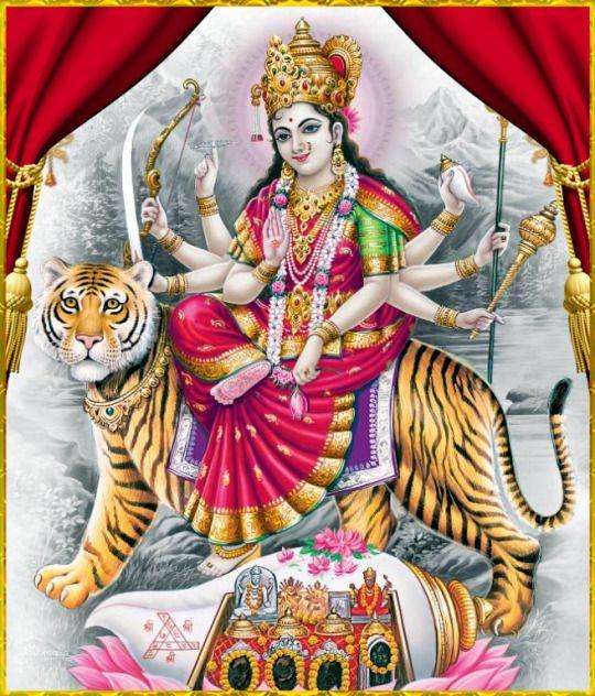 Sherowali Mata Ji New Photo for Durga Devotees