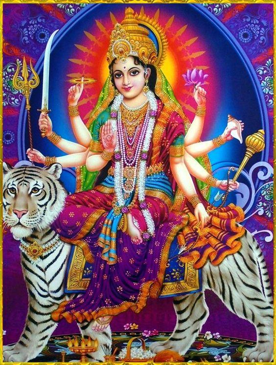 Shri Durga Maiya Ki Bhagwan Devi Wallpaper Dekhe