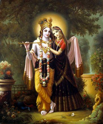 Best Romantic HD Image for Radha and Krishna God