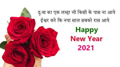 Photo of Happy New Year Mubarak Shayari in Hindi 2021 | नए साल की शायरी